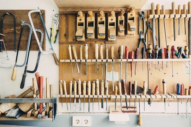 Werkzeug geordnet